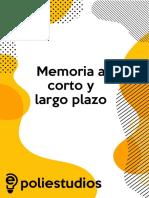 Memoria a Corto y Largo Plazo