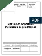 Montaje de Soporte e Instalacion de Plataforma Con Anexo (1)