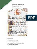 Tema 67 - La Constitución Española