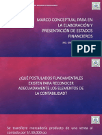 Marco Conceptual Para La Elaboracion y Presentacion de Estados Financieros