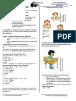 Problemas Envolvendo Equacoes de 2o Grau