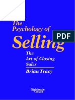 Psychology Of Selling - The Art Of Closing Sales - Brian Tracy.pdf