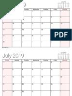 June 2019 - May 2020