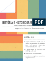 História e historiografia lgbt
