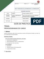 Guia 6. Profesiogramas de Cargos