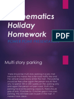 Mathematics Holiday Homework Class 9