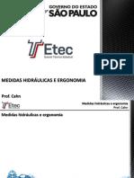 Pip Medidas Hidraúlicas e Ergonomia - Cahn