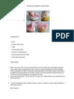 Receita Cupcakes Limão