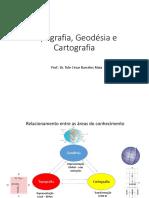 Topgrafia Geodesia e Cartografia