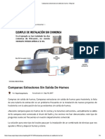 Campanas Extractoras Sin Salida de Humos - Blog Bar