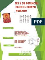 Enlaces y Potencial Electrico en El Cuerpo Humano