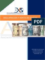 Declaracion y Venta de Divisa de Las Exportaciones (1)(1)