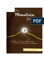 THE MOUTAIN PATH - ISSUE OF JAN 1970
