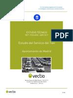 Ayto Madrid · Estudio Del Servicio Del Taxi