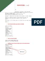 Clase de SQL