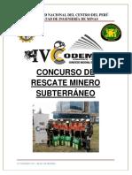 Bases Concurso de Rescate Minero 2019