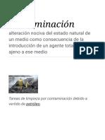 Contaminación - Wikipedia, la enciclopedia libre.pdf