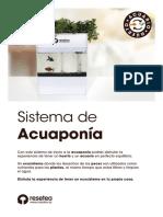 Instrucciones Acuponia Resetea