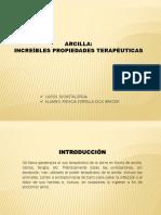 ARCILLAS MEDICINALES
