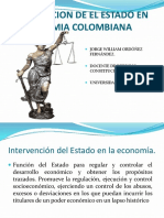 Intervencion Estado Economia