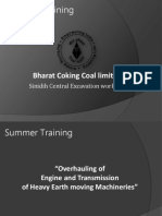 BCCL industrial training