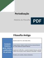 História da Filosofia -- slides