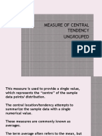 LECTURE 3A-MEASURES OF CENTRAL TENDENCY ungrouped data.ppt