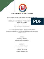 Aplicación de Fotogrametría Área en Levantamientos Topográficos Mediante El Uso de Vehiculos Aereos No Tripulados, Cantón La Maná