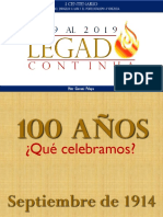 Propuesta I Centenario Iglesia Evangélica-Pentecostal Lara