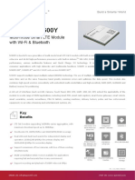SC600Y Datasheet