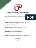Universidad Tecnológica Del Perú - Lab 3