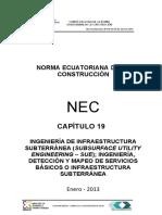 NEC2011-CAP19-Ingeniería de Infraestructura Subterránea Rev3-2