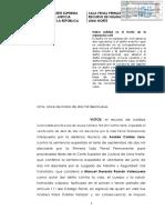 R.N.N° 1487-2018-HOMICIDIO CULPOSO- Motivación de la reparación civil-