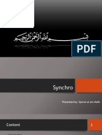 Synchro Ppt
