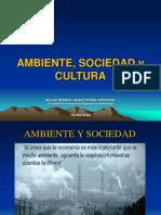Ambiente Sociedad y Cultura