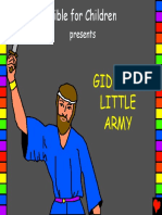 Gideons Little Army English