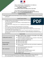 Gestion Rh Adl Appel a Candidature - Agents Presse-protocole - En