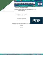 """Evidencia 1 Artículo """"Tecnologías de La Información y La Comunicación"""