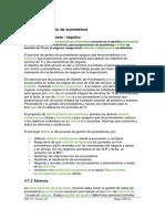 Gestión de proveedores - ITIL V3