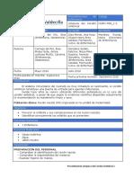Protocolo Cordon HUMV 2016
