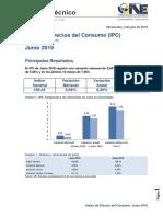 IPC Junio 2019