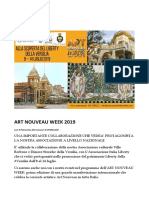 Programma in Versilia - ART NOUVEAU WEEK 2019