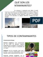Qué Son Los Contaminantes