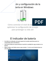 Tutorial Configuracion Bateria