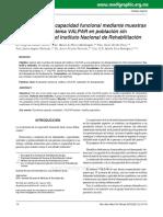 Artículo sobre Sistema de Evaluación VALPAR