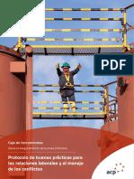 ACP Toolkit-PIEZA Buenas Practicas Para Las Relaciones y El Manejo de Los Conflictos Laborales
