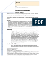 MTOR Signaling in Growth Control and Disease