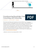 Crowdsourcing Knowledge_ Cowriting, Coteaching, And Colearning - AJO