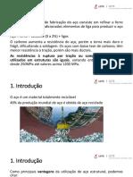 AULA DE ESTRUTURAS METÁLICAS