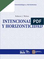[2015] Walton - Intencionalidad y Horizonticidad (1)